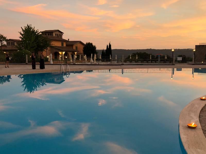 piscina panoramica