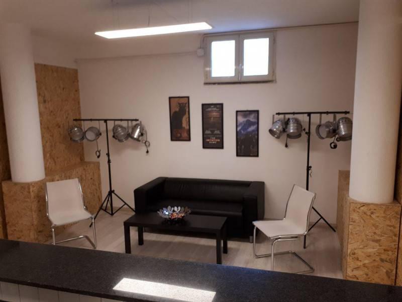 Area relax adiacente alla sala training