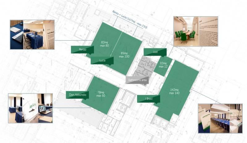 Planimetria Centro Congressi