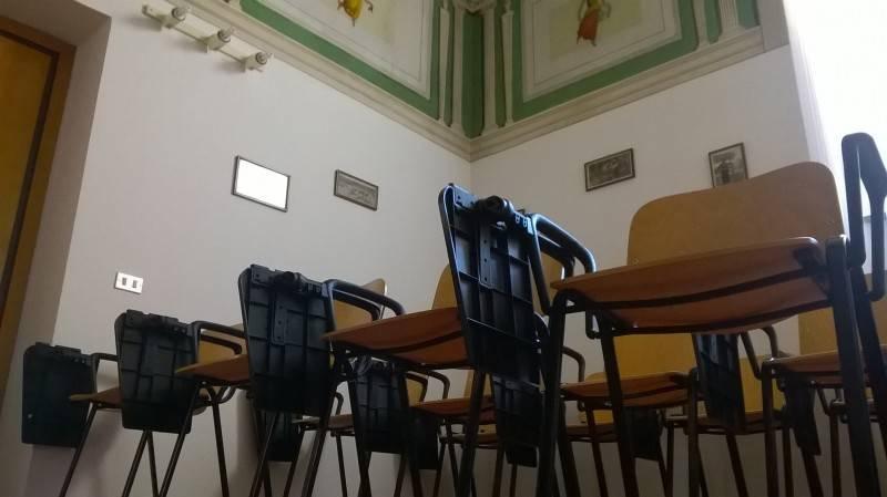 disposizione sedie per corsi